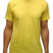 1001 Gold-Yellow Lightweight Ringspun Cotton T-Shirt