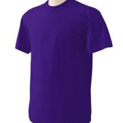1001 Purple Lightweight Ringspun Cotton T-Shirt