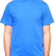 1001 Royal Lightweight Ringspun Cotton T-Shirt