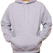 Heather-Charcoal Grey Classic Pullover Hoodies (Heavy Weight)