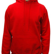 5001 Red Classic Pullover Hoodies (Heavy Weight)