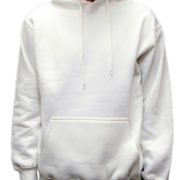 5001 White Classic Pullover Hoodies (Heavy Weight)