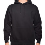 5108 Black Classic Pullover Hoodies (Heavy Weight)