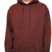 5108 Brown Classic Pullover Hoodies (Heavy Weight)
