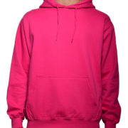 5108 Fuchsia-Hot-Pink Classic Pullover Hoodies (Heavy Weight)