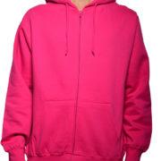 5109 Fuchsia-Hot-Pink Premium Full Zip Hoodies