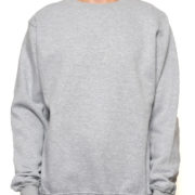 Cr280 Heather-Grey Crewneck Sweatshirt