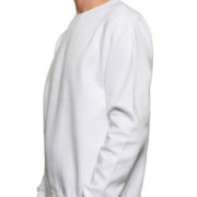 Cr280 White Midweight Crewneck Sweatshirt