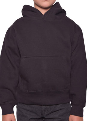Y300 Black Youth Pullover Hoodies